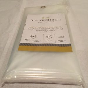 THRESHOLD SHOWER CURTAIN LINER